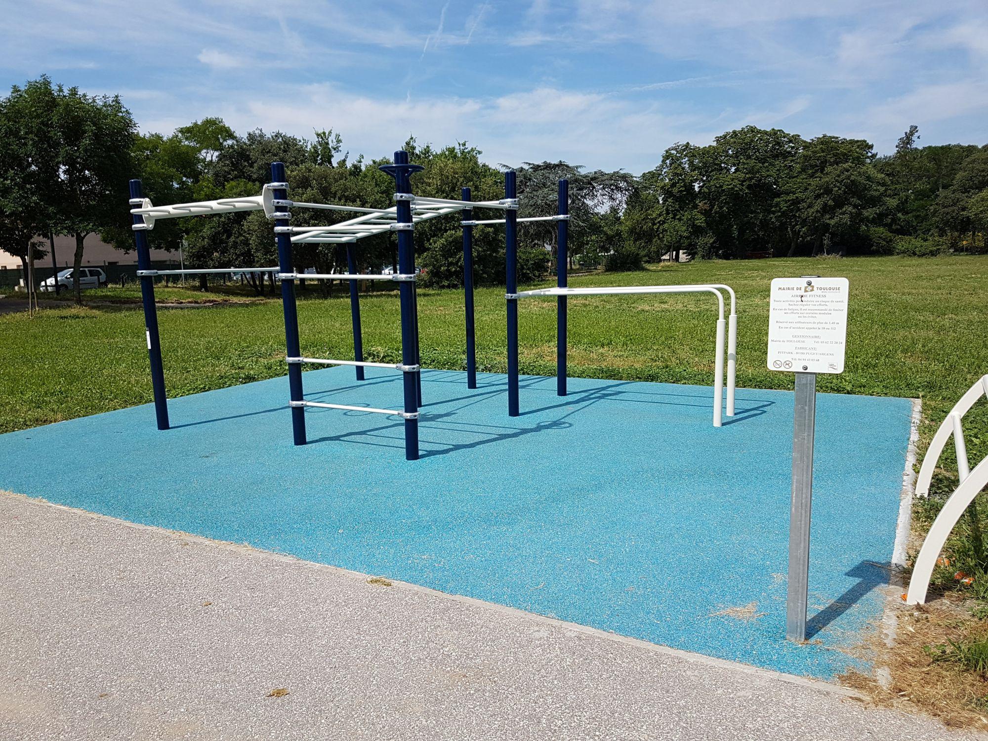aménagement d'espaces sportifs street workout