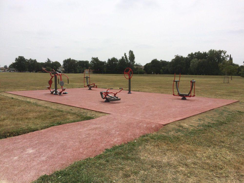 aire de fitness Saint Alban - Haute Garonne