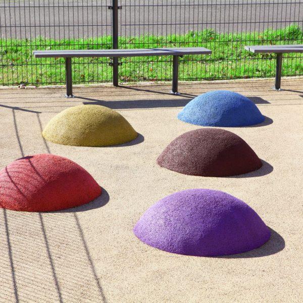 sols de sécurité pour un aire de jeux pour enfant