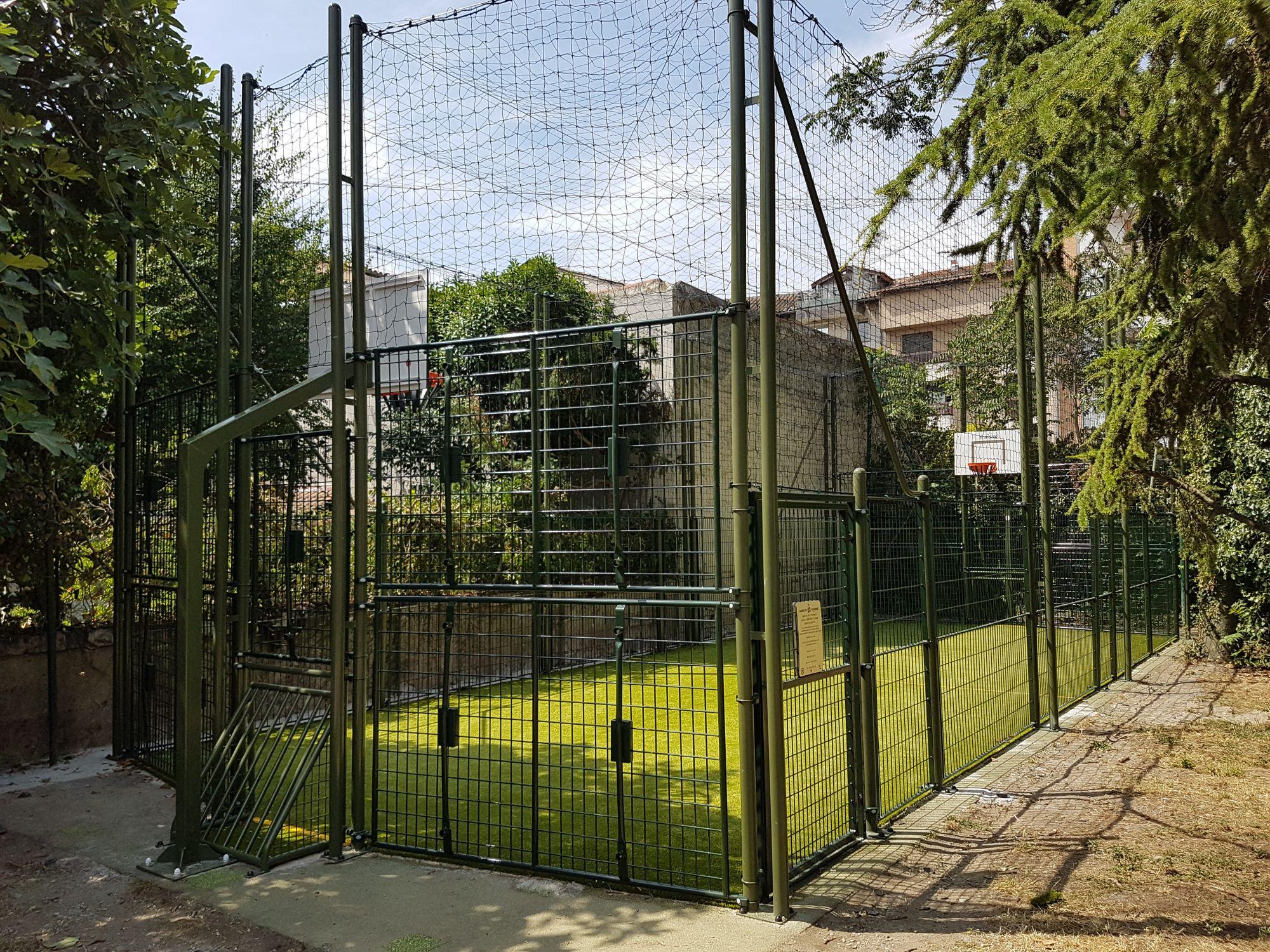 terrain multi sports jardin d'embarthe Toulouse Haute Garonne