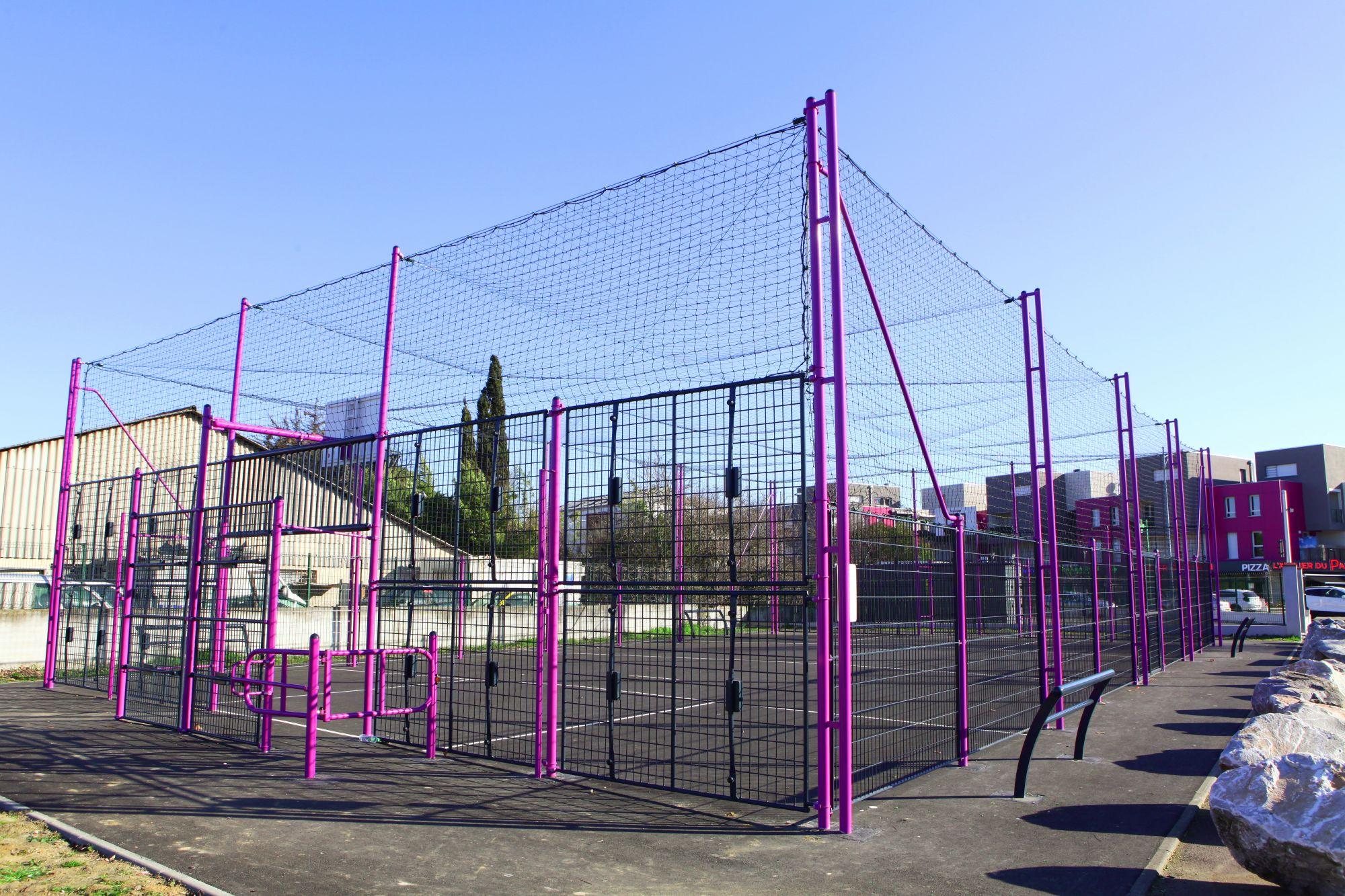 aménagement d'espaces sportifs