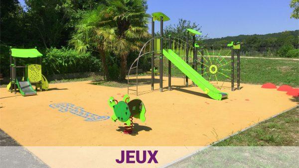 aire de jeux pour enfants - aménagement urbain ludique et sportif