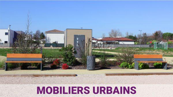 aménagement urbain ludique et sportif - mobiliers urbains