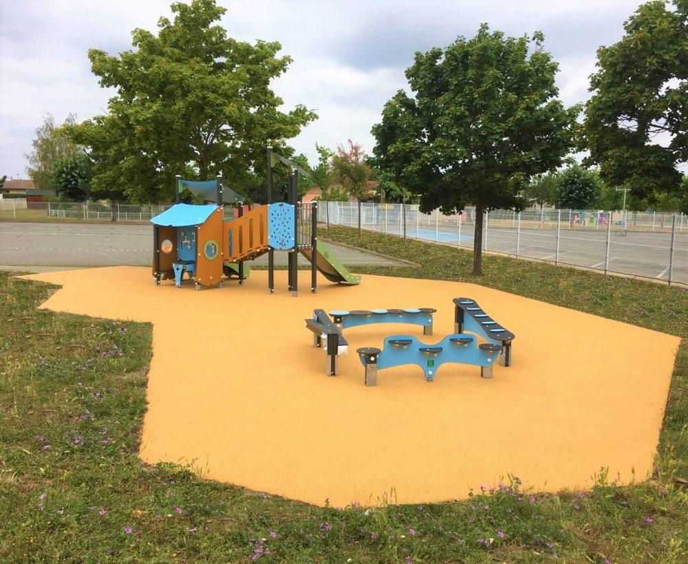 aire de jeux Carbonne en Haute Garonne